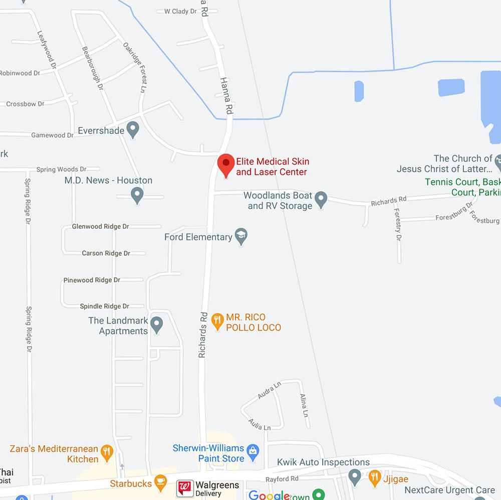 Elite Medical Skin and Laser Center location