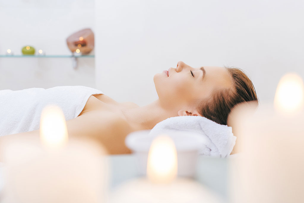 med spa relaxation room
